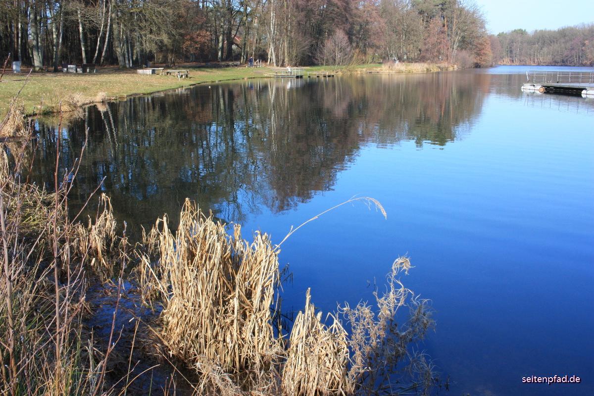 17. Februar 2019 Sonntagsspaziergang am Lopausee bei Amelinghausen