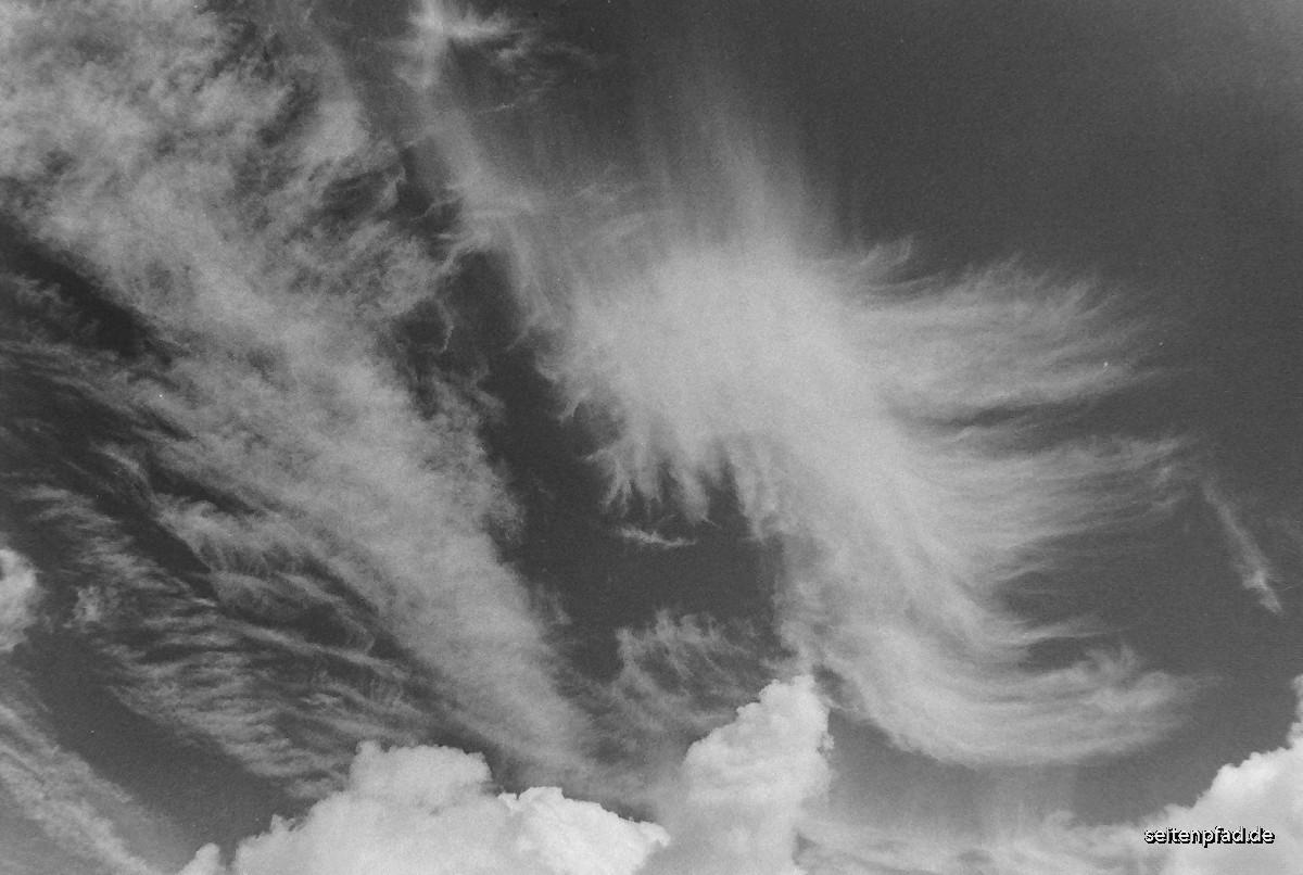 Wolken, Orangefilter