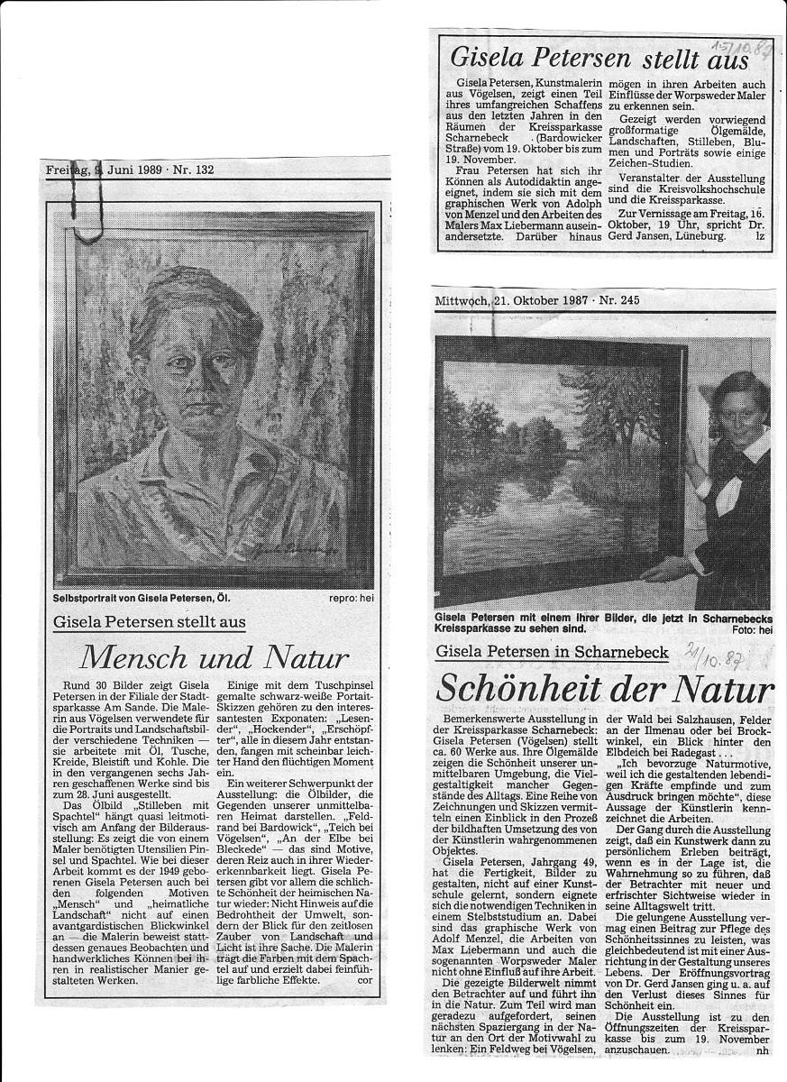 Aus dem Feuilleton der Landeszeitung Lüneburg
